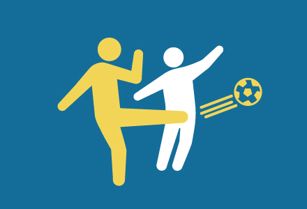 充実したサッカーの指導を受けたい選手
